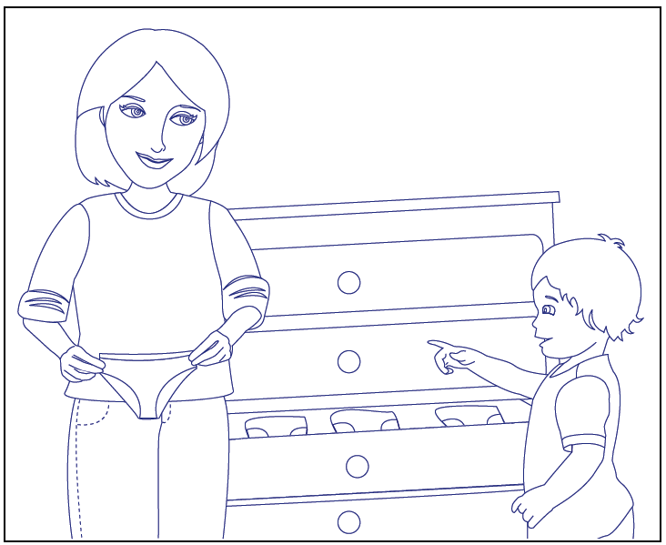 potty training coloring pages