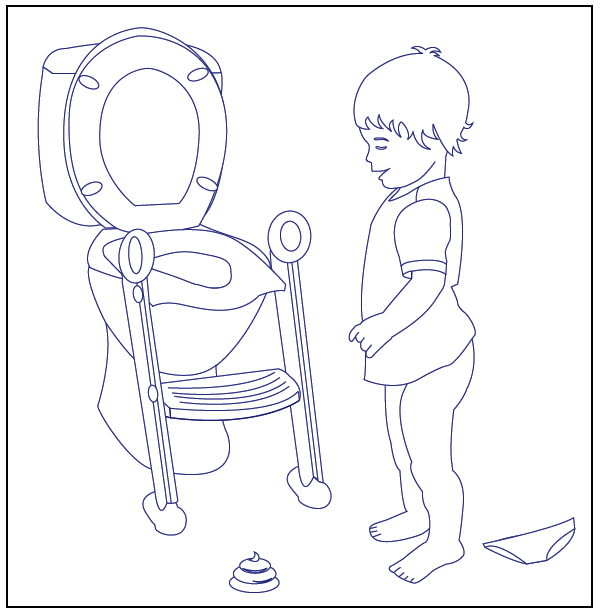 coloring pages potty - photo#12