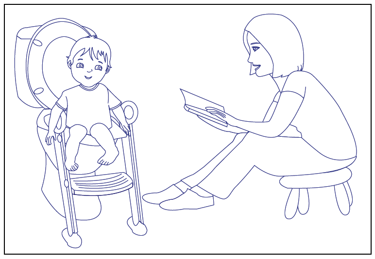coloring pages potty - photo#6